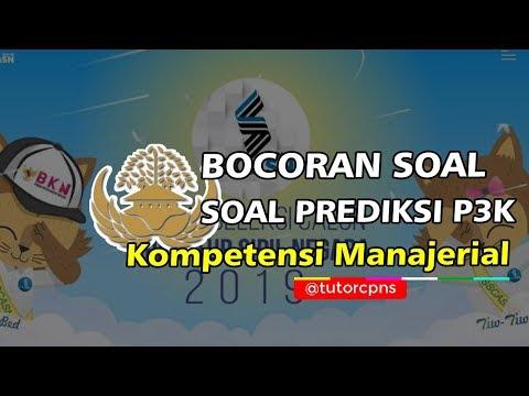 Prediksi Soal Kompetensi Manajerial Pppk 2019
