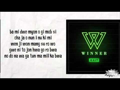 WINNER - SENTIMENTAL Lyrics (easy lyrics)