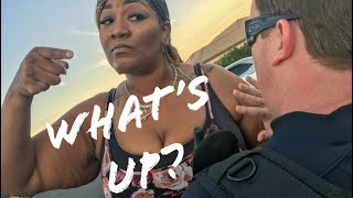 Angry Black Women Yells At White Cop!  Jim Perry The Cop Comic S1E11