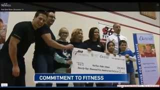 Red Deer Personal Training Studio Gives Back $25,000 To Community! Ctv