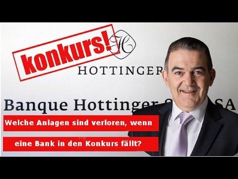 Konkursverfahren: Welche Anlagen sind verloren, wenn eine Bank in den Konkurs fällt?
