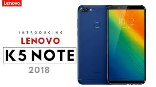 Lenovo K5 Note 2018 Trailer
