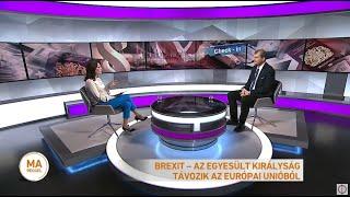 Brexit - az Egyesült Királyság távozik az Európai Unióból