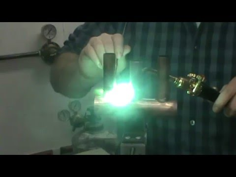 Gasflux Process - T-Drill Braze with 2% Silver, BCuP-6