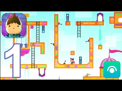 Love You To Bits - Gameplay Walkthrough Part 1 - Levels 1-4 (iOS)