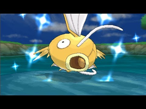 Pokemon X And Y - Catching Shiny Magikarp! [LIVE]