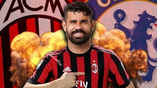 Revealed: ac milan close to signing diego costa?! | continental club