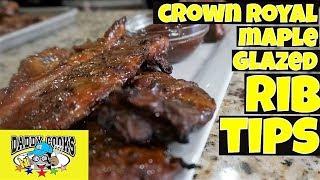 Crown Royal Maple Glazed Rib Tips