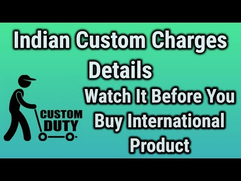 Custom Duty Charges Problem Regarding Any International Shipment & Payment Issue SOLUTION in HiNDI