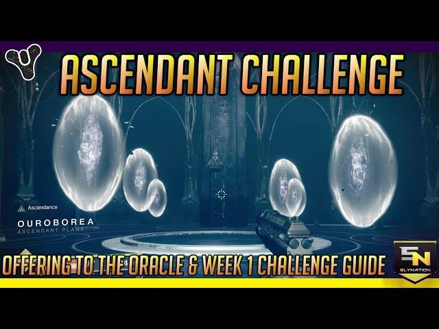 D2 Forsaken | Dreaming City Ascendant Challenge w/ Secret Chest & Oracle Offering Guide (Week1)