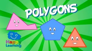 Polygons | Educational Video for Kids