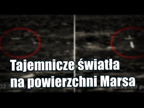 Łazik Curiosity uwiecznił na Marsie orb wystrzeliwujący promień światła