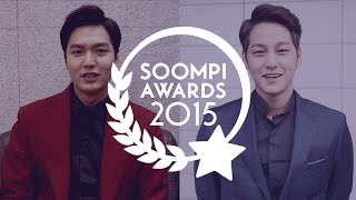 Video Exclusive: Lee Min Ho and Kim Bum for Soompi Awards 2015 download MP3, 3GP, MP4, WEBM, AVI, FLV Agustus 2018
