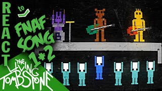 LUIGIKID REACTS TO: THE LIVING TOMBSTONE - FIVE NIGHTS AT FREDDY