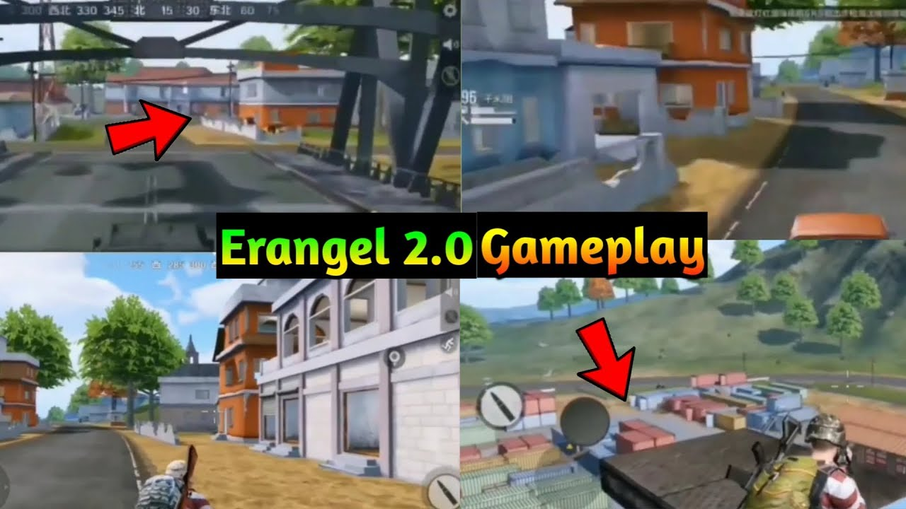 Pubg Mobile Erangel 2.0 Update Is Coming - New Graphics & New Location