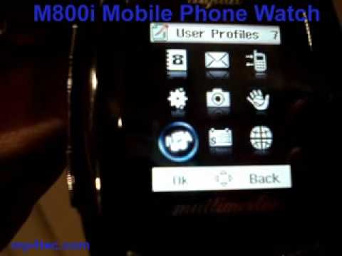 M800i Mobile Phone Watch Mp3 Mp4 Player