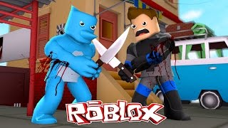 ROBLOX MURDER MYSTERY - SCUBA STEVE, STABBED IN THE BACK??