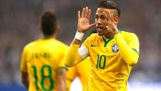 France Vs Brazil (1-3) All Goals & Highlights  HD  - Friendly Match 26/03/2015