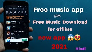 Free online music app with free download music for offline in hindi 2021 | download free music
