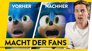 Sonic Wie Fans Kinofilme beeinflussen  WALULIS