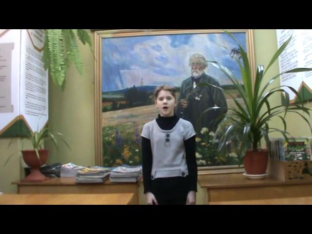 Изображение предпросмотра прочтения – АннаКотова читает произведение «Бородино» М.Ю.Лермонтова