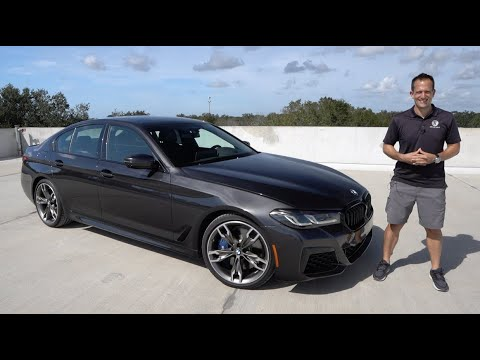Is the updated 2021 BMW M550i enough luxury sport sedan for the PRICE?