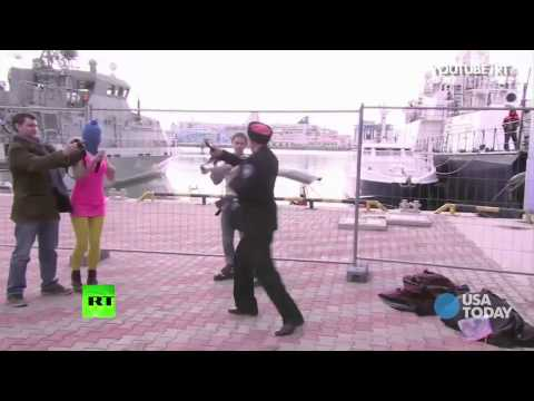 Russian TV captures Pussy Riot whippings | USA NOW