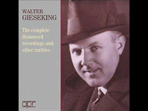 Walter Gieseking plays Chopin - Etude op. 25 n. 1