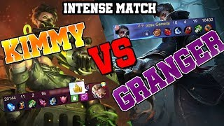 I heard GRANGER is KIMMY counter so I picked and played...ㅣMobile Legends