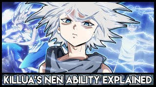 Explaining Killua Zoldyck's Nen Abilities (Godspeed + Electric Aura) | Hunter X Hunter Explained