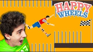 RECORD di SPIKE-FALL fatti in 10 MINUTI!! - Happy Wheels [Ep.164]