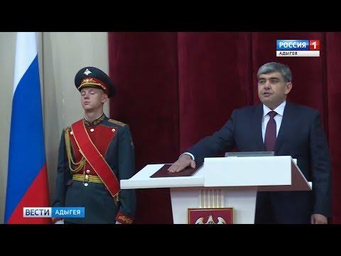 Мурат Кумпилов поздравил Казбека Кокова с вступлением в должность Главы КБР