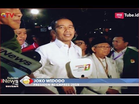 Jokowi-Ma'ruf Nomor Urut 01, Relawan Teriak Jokowi Satu Kali Lagi - BIP 22/09