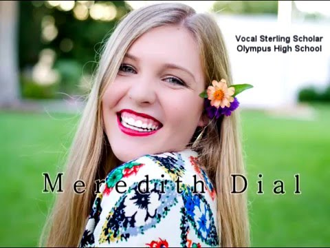 Meredith Dial-Vocal Sterling Scholar (Olympus High School)