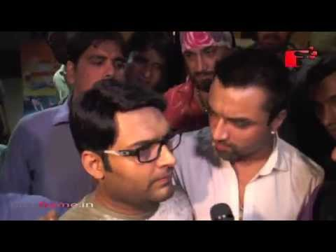 Angry Ajaz Khan Argues with Kapil Sharma in Public