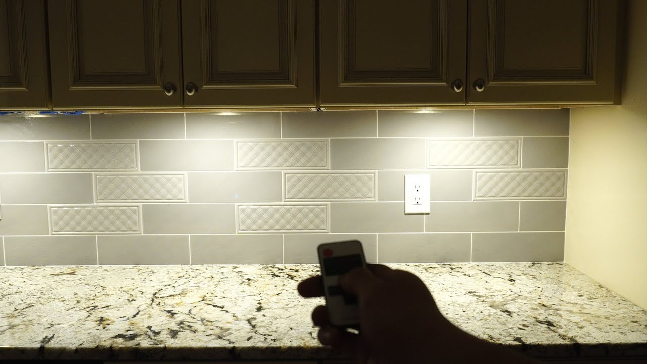 Aiboo Plug In Led Under Cabinet Puck Lights Installation And Review