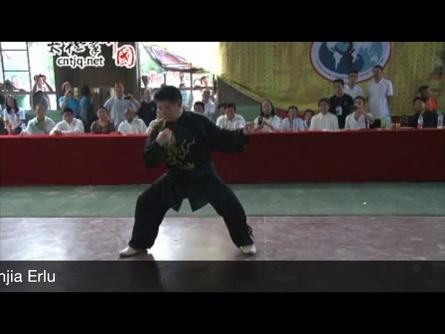 Chen Yu - Tai Chi style Chen Xinjia Erlu 2012  [陈氏太极拳新架 Taijiquan style Chen]