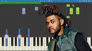 Download The Weeknd ft. Daft Punk - I Feel It Coming - Piano Tutorial MP3 song and Music Video