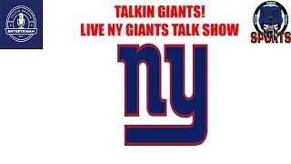 Talkin Giants! Chris & The Baddog Talkin Giants Live Giants Talk Show! Giants vs Skins!