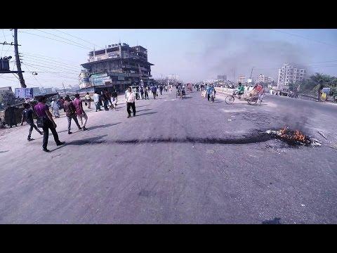 Strike Day Bike Ride to Office   Dhaka   GoPro