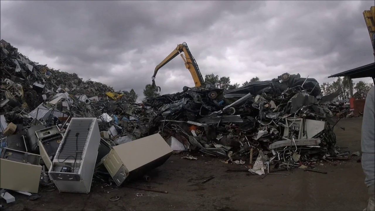 Schnitzer Scrap Yard Tour Inspections Bonus Tandoori Flame Buffet - Schnitzer scrap
