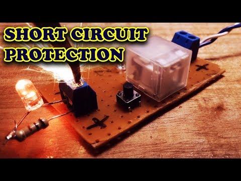"""Membuat Rangkaian """"Short Circuit Protection"""" - ANTI KONSLET"""