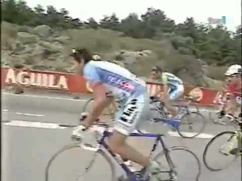 Vuelta a España 1997 - 19 Los Angeles De San Rafael Jimenez