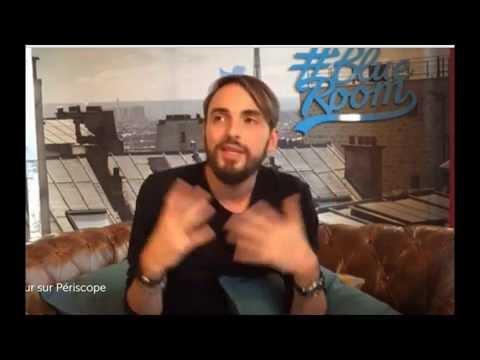 Christophe Willem - Vidéo Chat Twitter - 08 10 2015