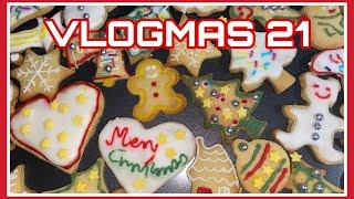 VLOGMAS 21/Moje proponowane oceny na koniec semestru i pieczemy ciasteczka