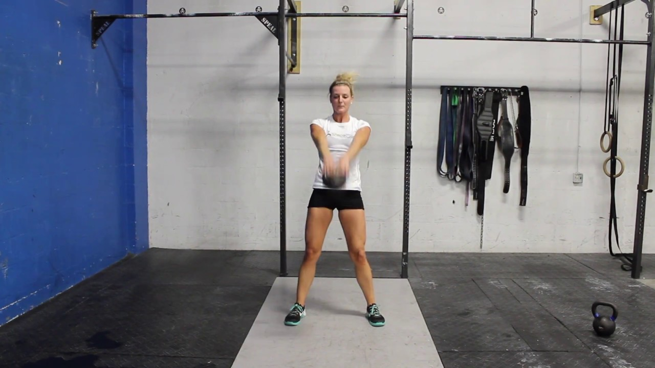 Kettlebell Swing - CrossFit Exercise Guide with Photos