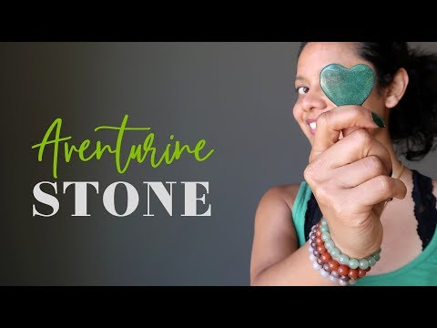 Aventurine Stone - A-Z Satin Crystals Meanings