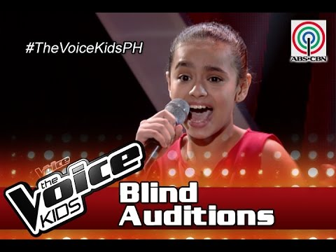 "The Voice Kids Philippines 2016 Blind Auditions: ""Who Says"" by Hannah"