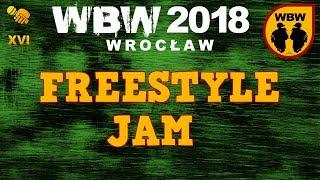 Freestyle Jam: RYBA, FILIPEK, BOBER, DYZIO, SID # WBW 2018 Wrocław # freestyle