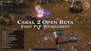 [CABAL2] Cabal 2 NA First PvP Tournament (Open Beta)